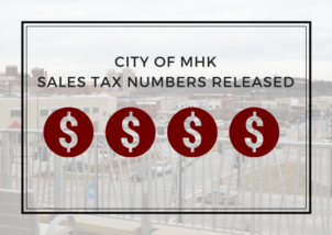 Manhattan sales tax numbers are down